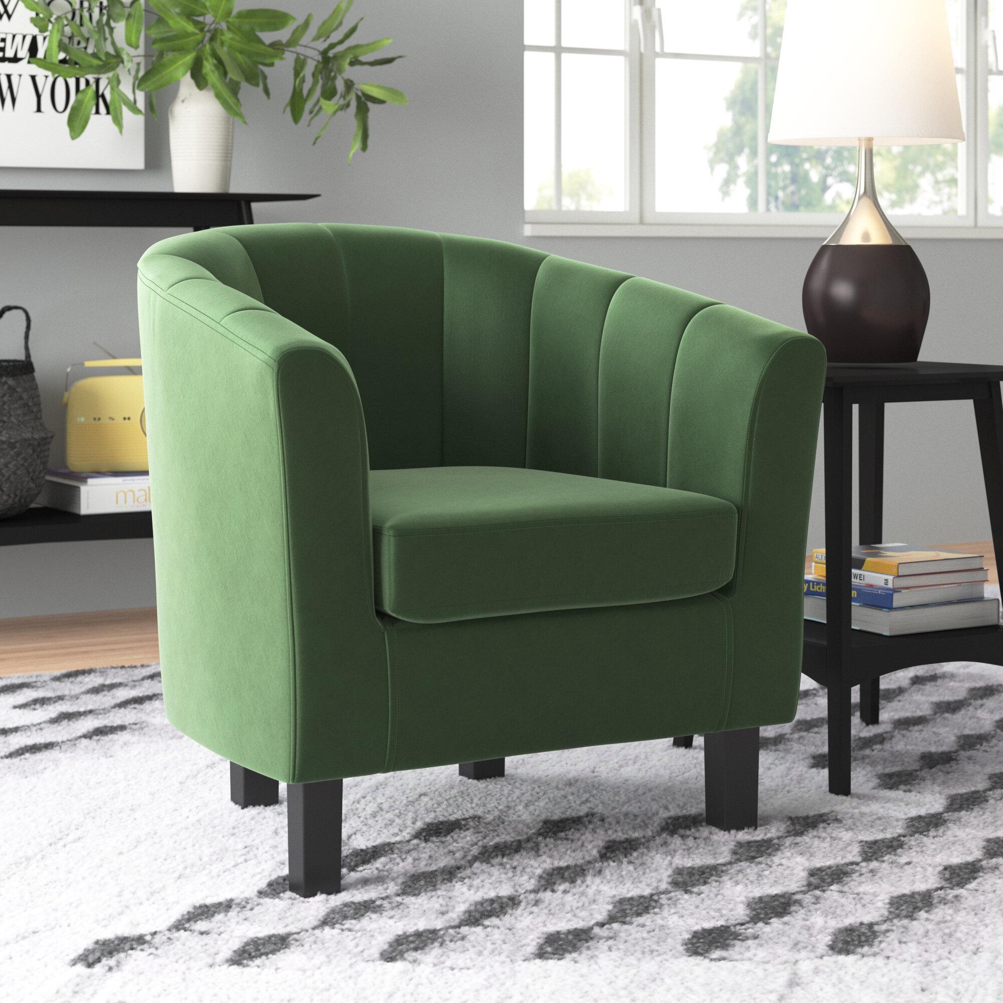 """Zipcode Design™ Ziaa Channel 20"""" Armchair & Reviews   Wayfair Regarding Ziaa Armchairs (Set Of 2) (View 7 of 15)"""