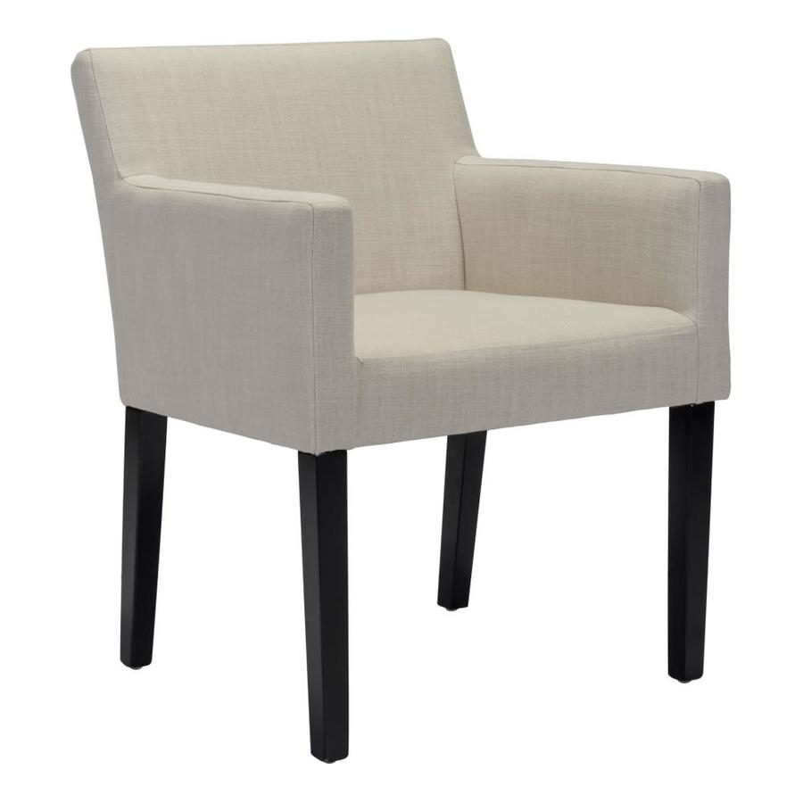 Zuo Modern Franklin Contemporary Polyester Blend Upholstered Inside Polyester Blend Armchairs (View 14 of 15)