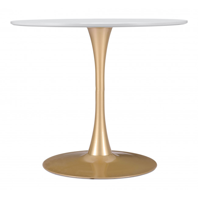 101568 – Opus Dining Table White & Gold For Current Akito  (View 15 of 15)