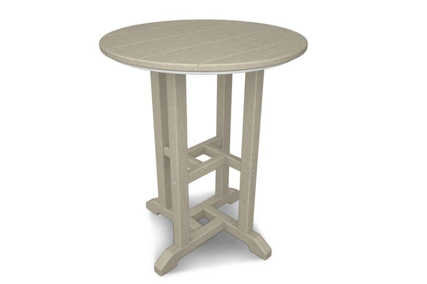 """24"""" Round Dining Table Rt124 Pertaining To Newest Adsila 24'' Dining Tables (View 3 of 15)"""