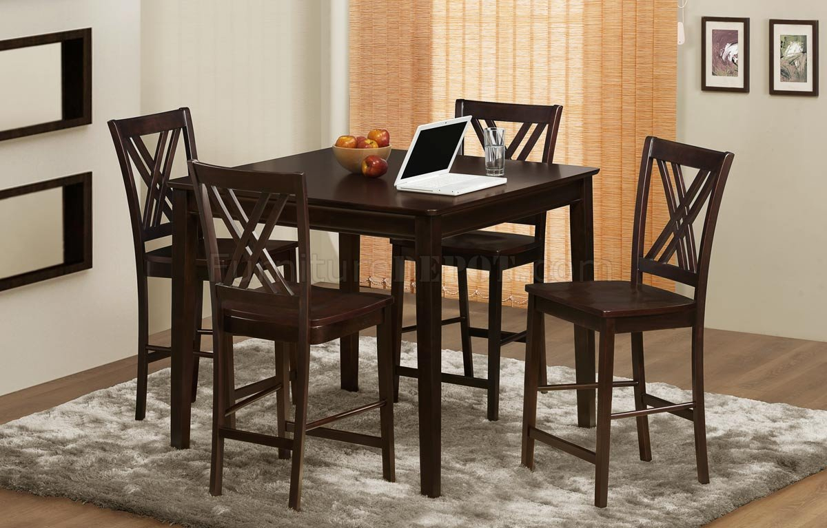 2436 36 Hodges Counter Height Dining Tablehomelegance With Regard To Current Abby Bar Height Dining Tables (Photo 7 of 15)