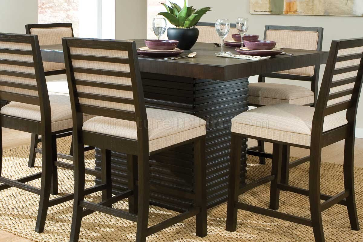 2455Dc 36 Miles Counter Height Dining Tablehomelegance Throughout Most Recently Released Montauk 36'' Dining Tables (View 8 of 15)