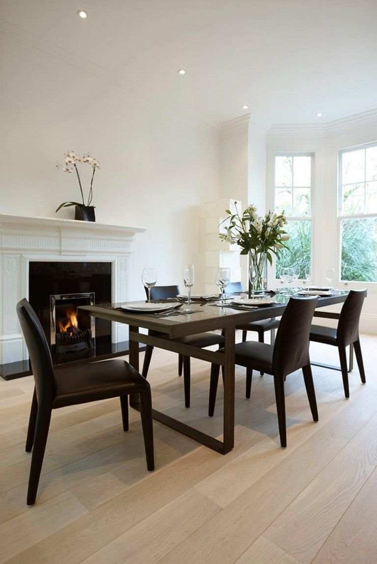 35+ Awesome Modern Formal Dining Room Sets #Diningroom # For Most Up To Date Adejah 35'' Dining Tables (Photo 1 of 15)