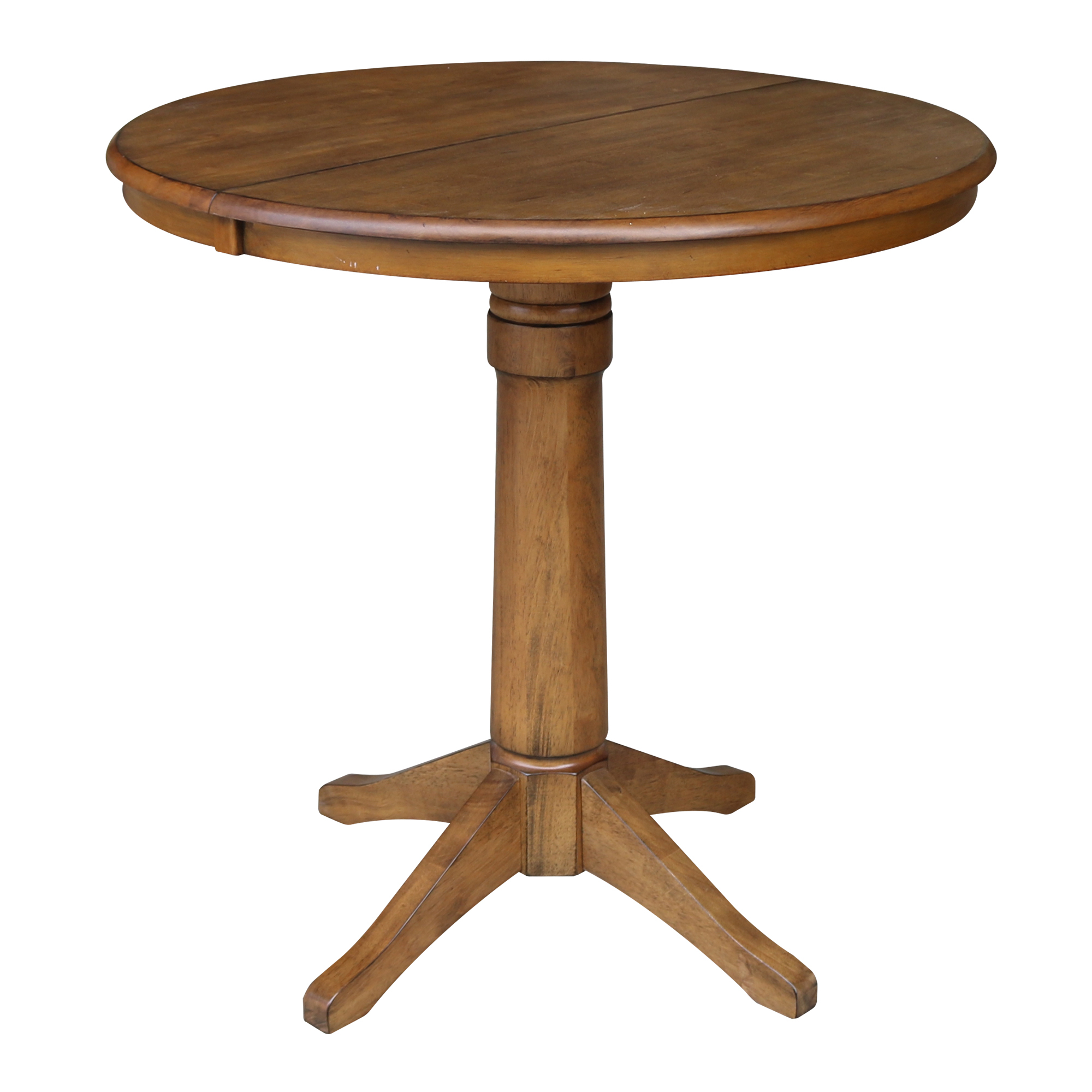 Featured Image of Bar Height Pedestal Dining Tables