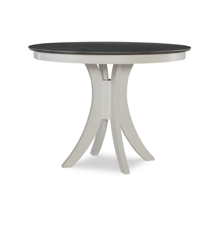 [48 Inch] Siena Round Gathering Table With Pedestal Base In Latest Tabor 48'' Pedestal Dining Tables (View 7 of 15)