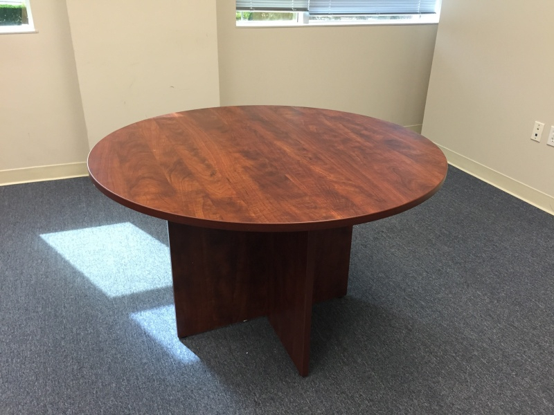 4Ft Round Meeting Table – Value Mander Within Best And Newest Collis Round Glass Breakroom Tables (View 8 of 15)