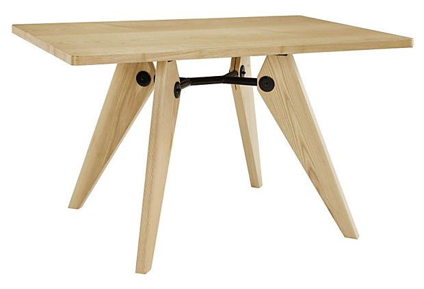 """51"""" X 32"""" Landing Dining Table, Natural On Onekingslane Pertaining To Newest Mcmichael 32'' Dining Tables (View 11 of 15)"""