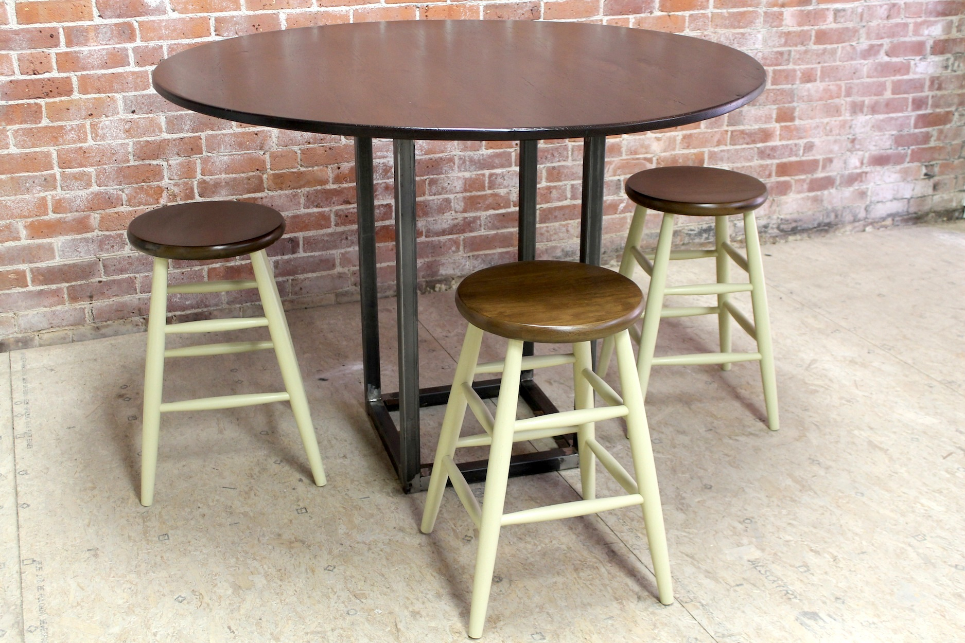 54 Inch Round Counter Height Table – Lake And Mountain Home Intended For Most Recent Charterville Counter Height Pedestal Dining Tables (View 6 of 15)