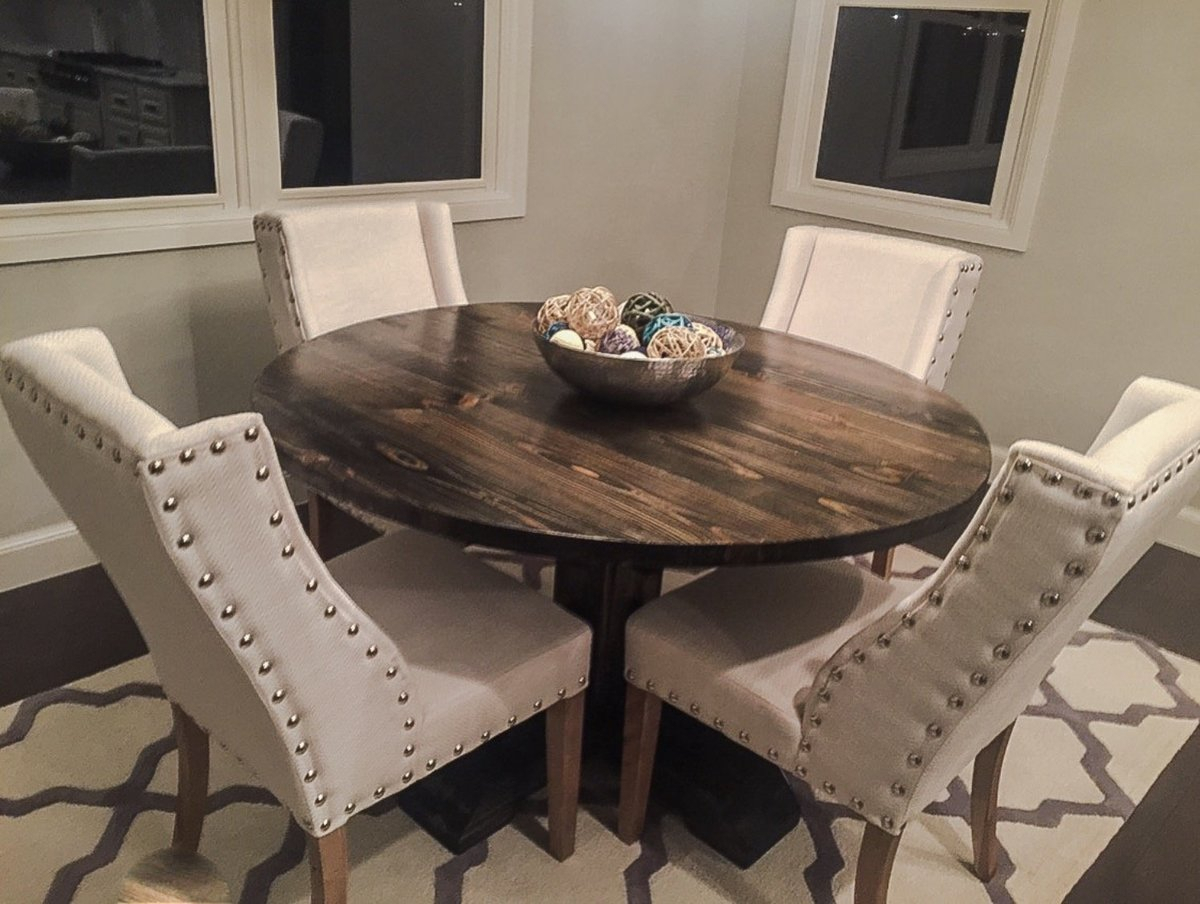 Featured Image of Dawna Pedestal Dining Tables