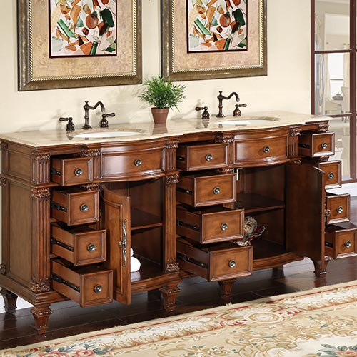 """72 Inch Berlin Vanity 