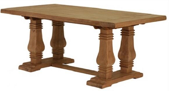 """72"""" L X 39 X 30 Hand Craffted Dining Table Honey Wash Inside Latest Yaqub 39'' Dining Tables (View 11 of 15)"""