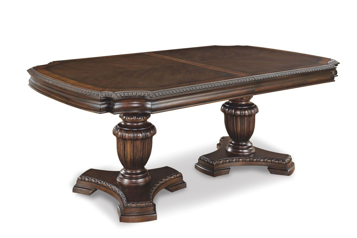 A.r.t. Capri Double Pedestal Dining Table Ar 187221 $ (View 12 of 15)
