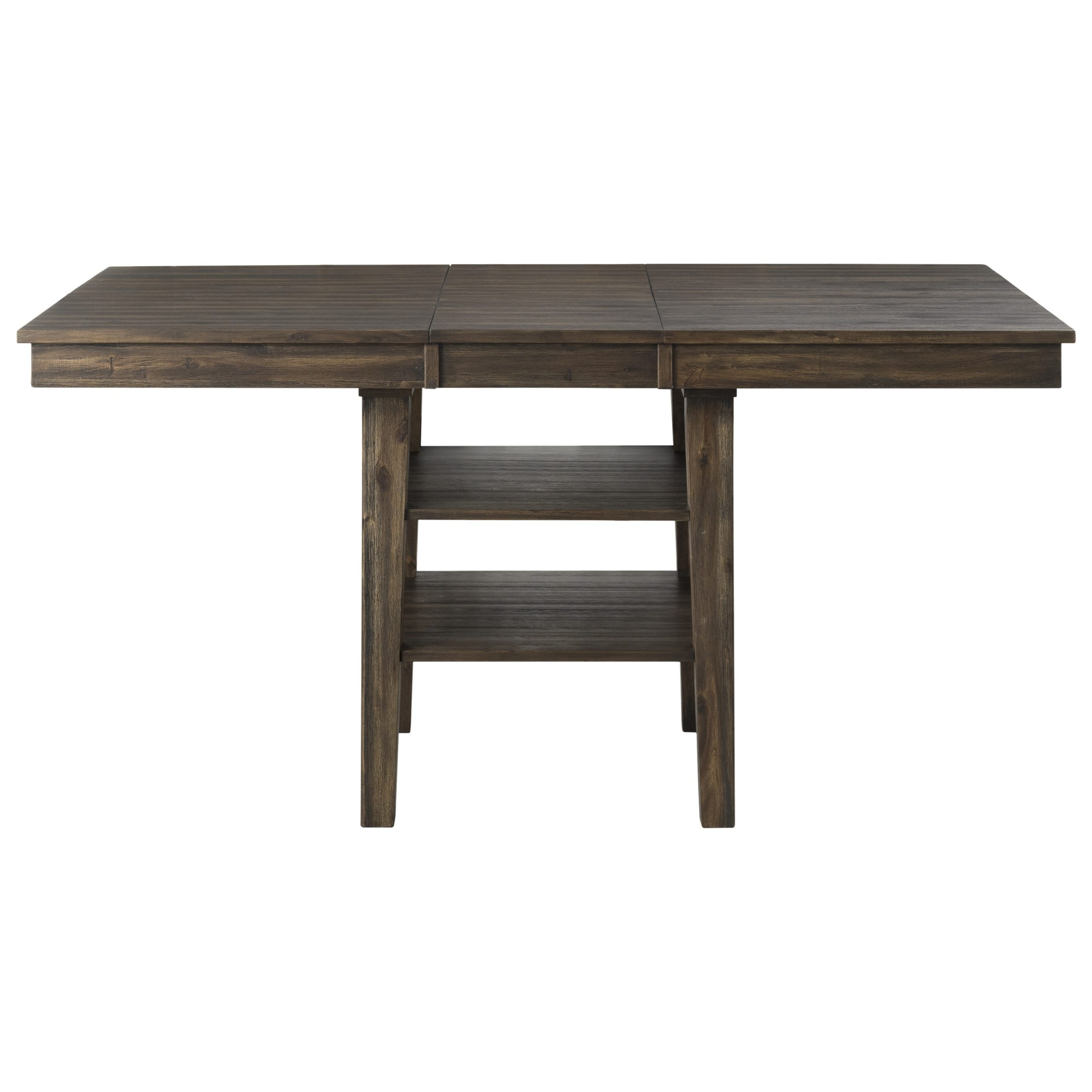 Aamerica Huron Transitional Solid Wood Counter Height With Regard To Best And Newest Andreniki Bar Height Pedestal Dining Tables (View 12 of 15)
