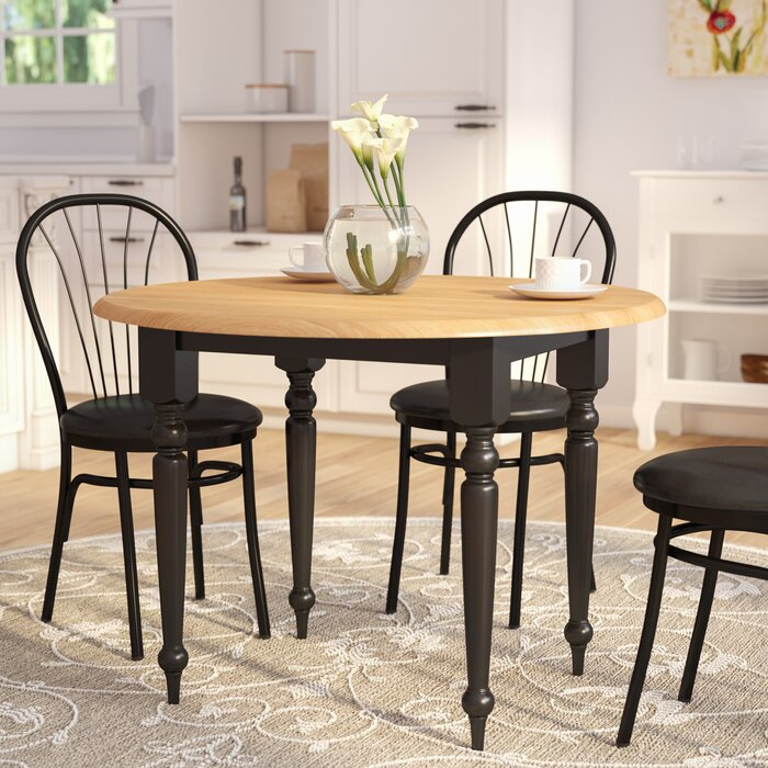 Featured Image of Katarina Extendable Rubberwood Solid Wood Dining Tables