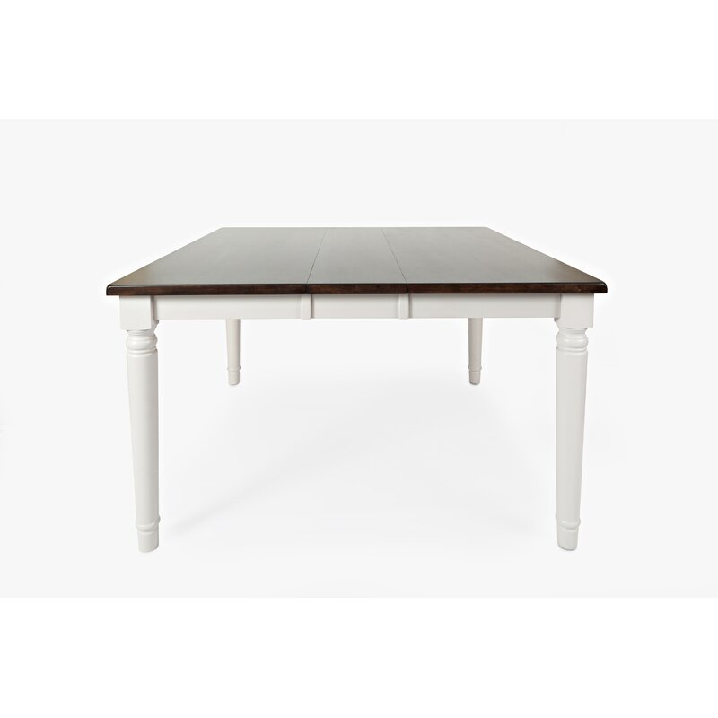 Alcott Hill Hickerson Counter Height Extendable Rubberwood Pertaining To Best And Newest Wes Counter Height Rubberwood Solid Wood Dining Tables (View 12 of 15)