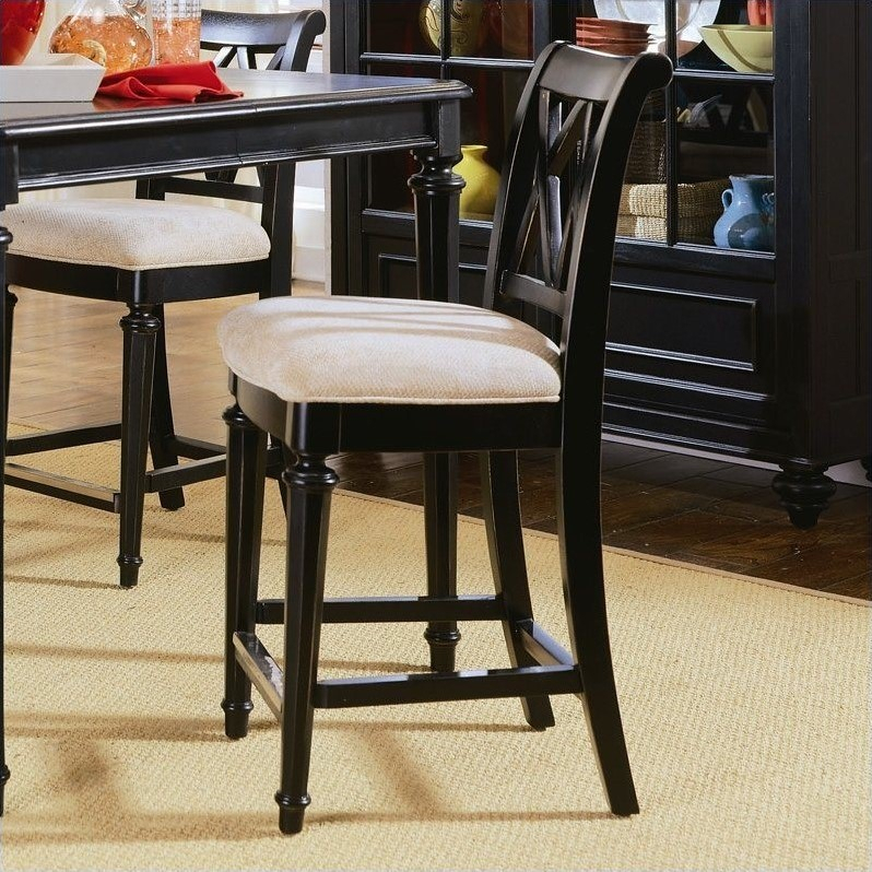 American Drew Camden 5 Piece Round Counter Height Pedestal Inside Most Recently Released Bar Height Pedestal Dining Tables (View 9 of 15)