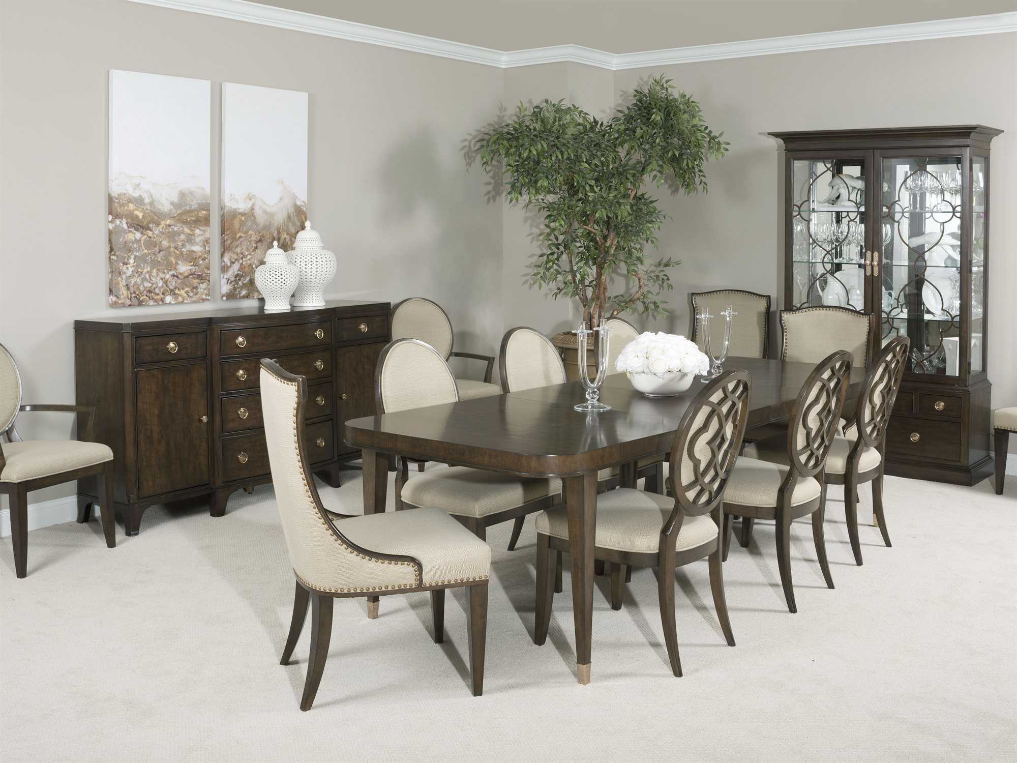 """American Drew Grantham Hall Deep Dining Set 