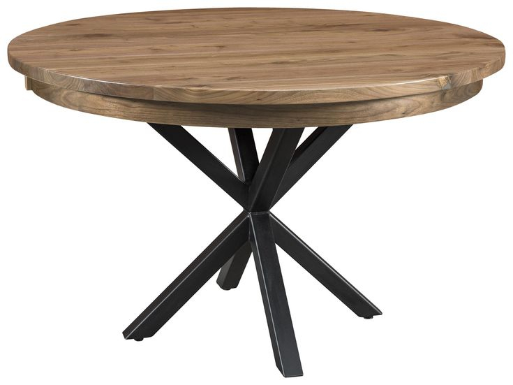 Amish Irvine Single Pedestal Dining Table | Pedestal With Regard To Most Popular Exeter 48'' Pedestal Dining Tables (Photo 3 of 15)