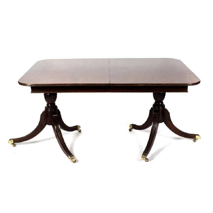 An Early 19Th Century Twin Pedestal Dining Table With Most Popular Kohut 47'' Pedestal Dining Tables (View 11 of 15)