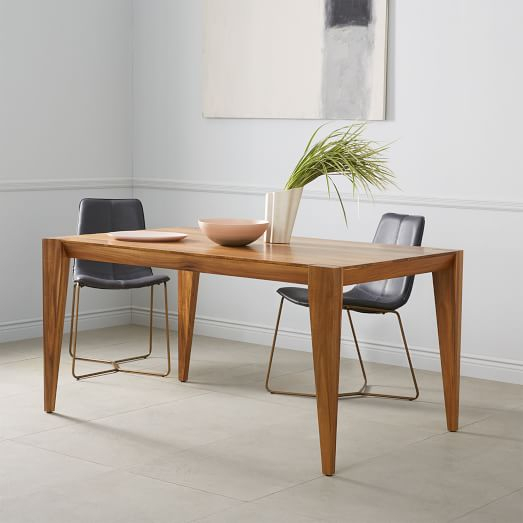 Anderson Solid Wood Dining Table – Raw Acacia | West Elm Inside Most Current Folcroft Acacia Solid Wood Dining Tables (View 6 of 15)