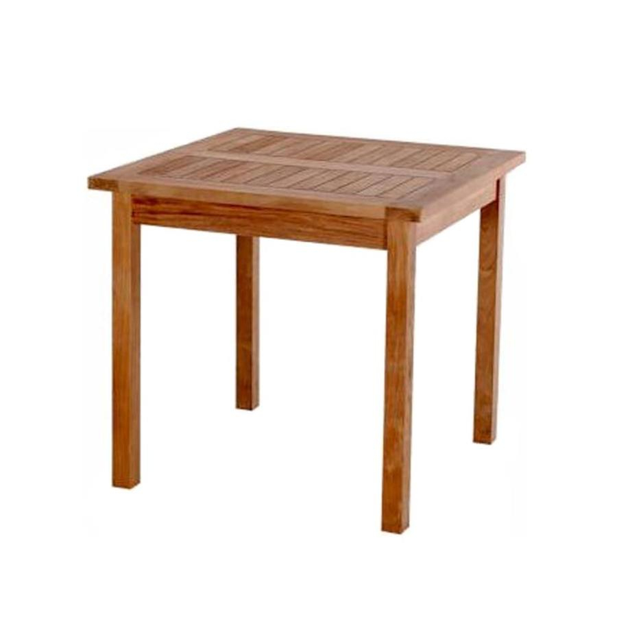 Anderson Teak Bahama Square Dining Table 35 In W X 35 In L Regarding Most Up To Date Benji 35'' Dining Tables (View 2 of 15)