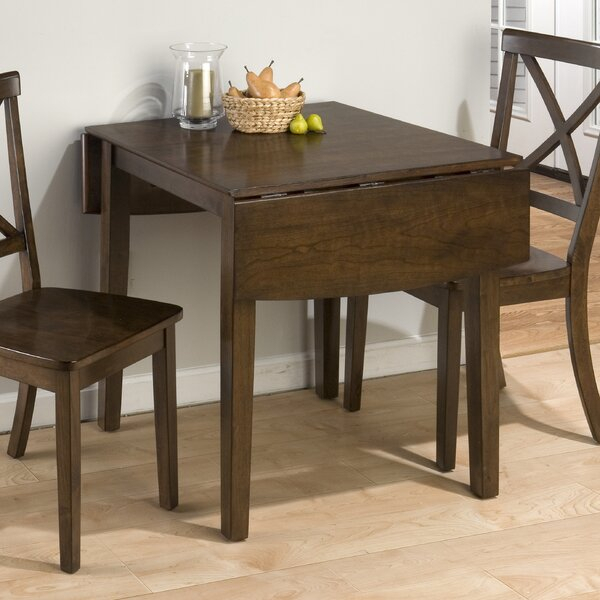 Andover Mills Carlos Extendable Drop Leaf Dining Table Regarding Most Popular Milton Drop Leaf Dining Tables (View 15 of 15)