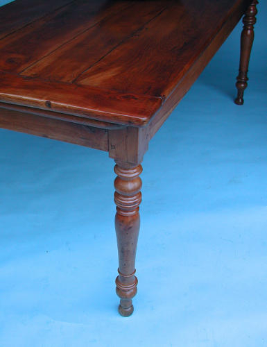 Antique 19Thc Fruitwood Farmhouse Dining Table. French Throughout Latest Joyl  (View 2 of 15)