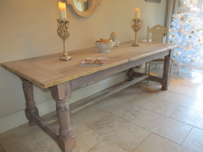 Antique Bespoke Hand Built & Traditional Peg Joined Dining Inside Recent Bechet 38'' Dining Tables (View 11 of 15)