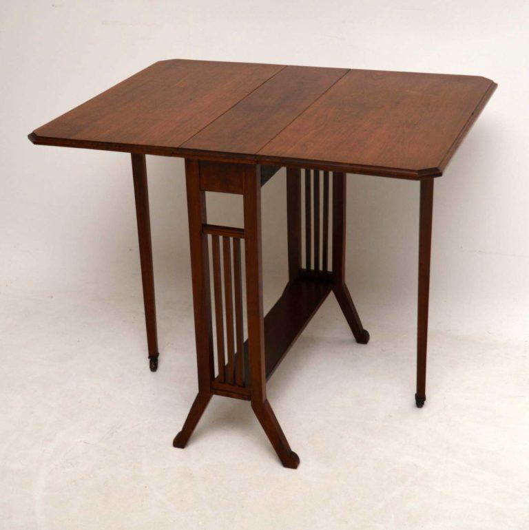 Antique Edwardian Mahogany Sutherland Table – Marylebone Intended For Latest Joyl  (View 5 of 15)