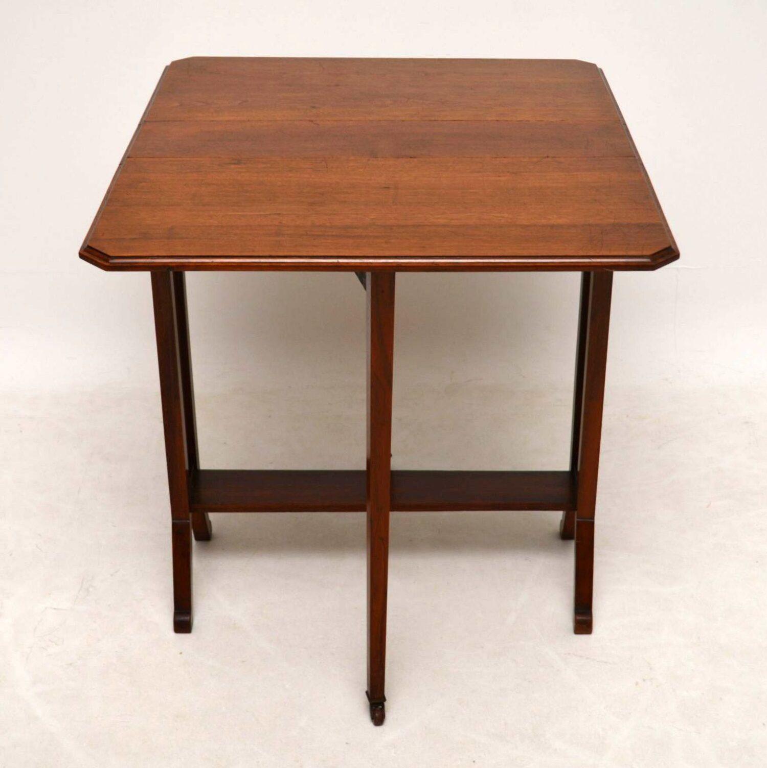 Antique Edwardian Mahogany Sutherland Table – Marylebone Regarding Most Recently Released Joyl  (View 6 of 15)