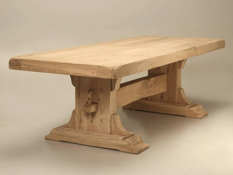 Antique French Oak Trestle Dining Table At 1Stdibs With Best And Newest Nerida Trestle Dining Tables (View 14 of 15)