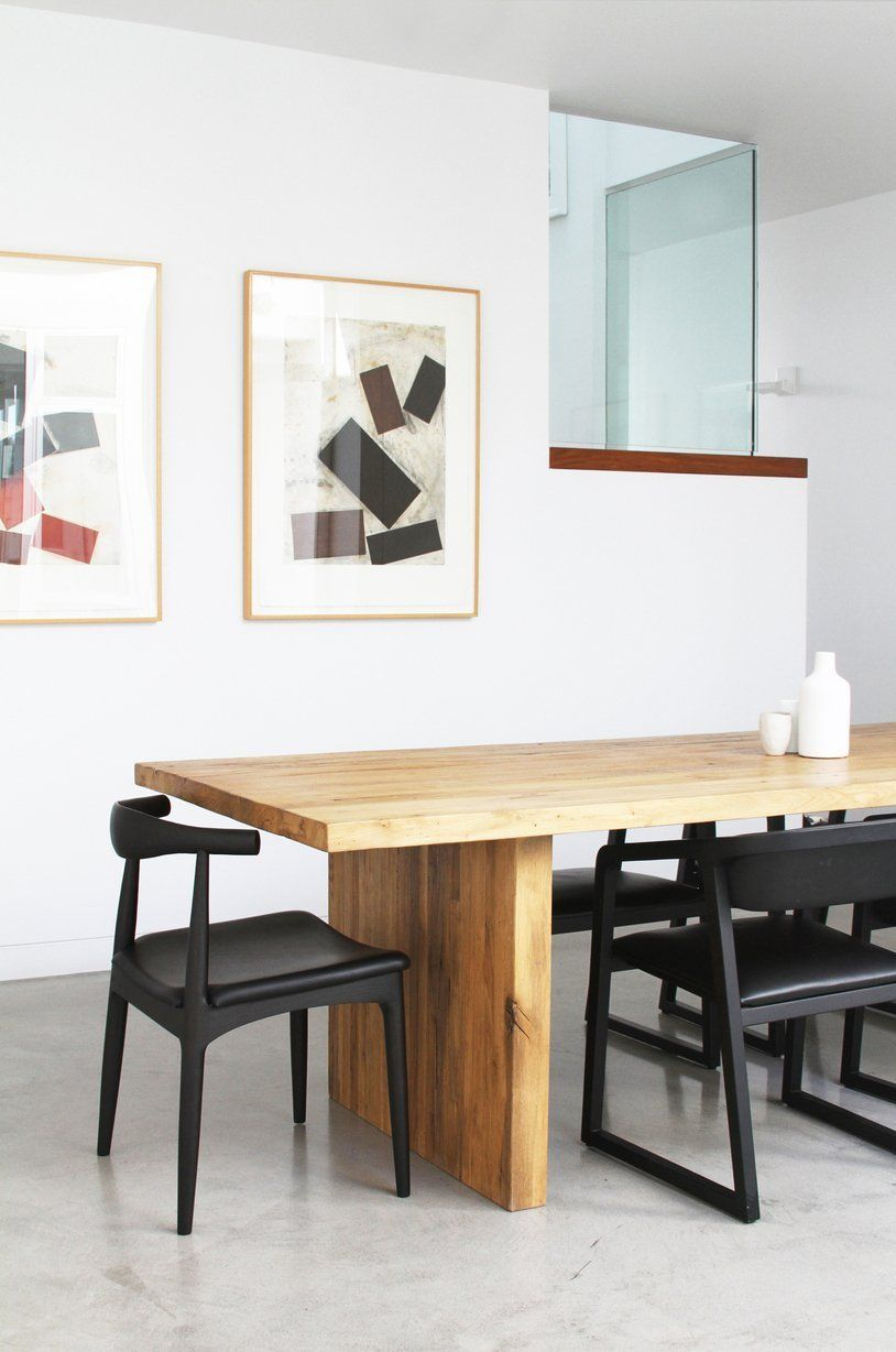 Ara And Chris' Abbot Kinney Loft   Japanese Dining Table Within Most Recently Released Akitomo (View 3 of 15)
