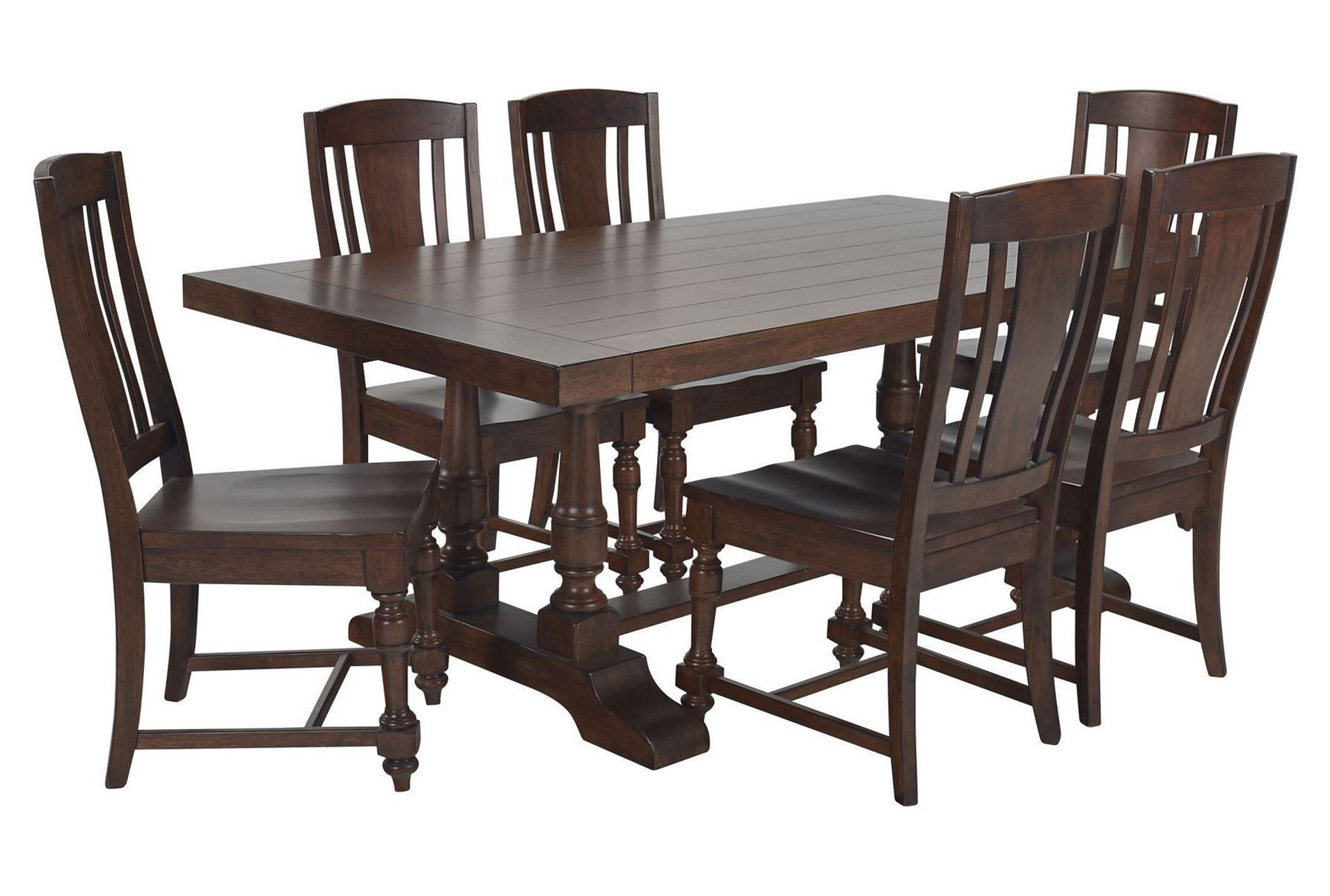 Arlo Wood 7 Piece Dining Set | Dining, 7 Piece Dining Set Throughout Recent Anzum 23.6'' Dining Tables (Photo 12 of 15)