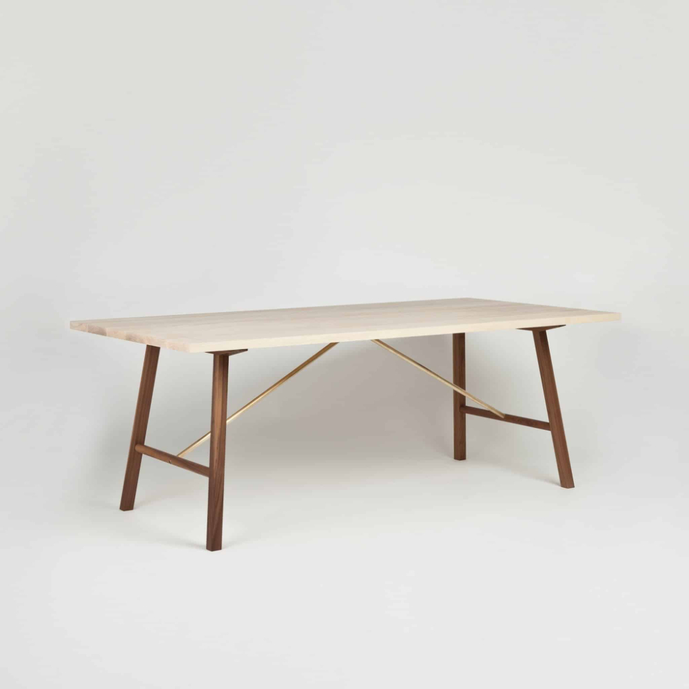 Ash And Walnut Dining Table Twoanother Country In 2020 With Most Recently Released Kayleigh (View 7 of 15)