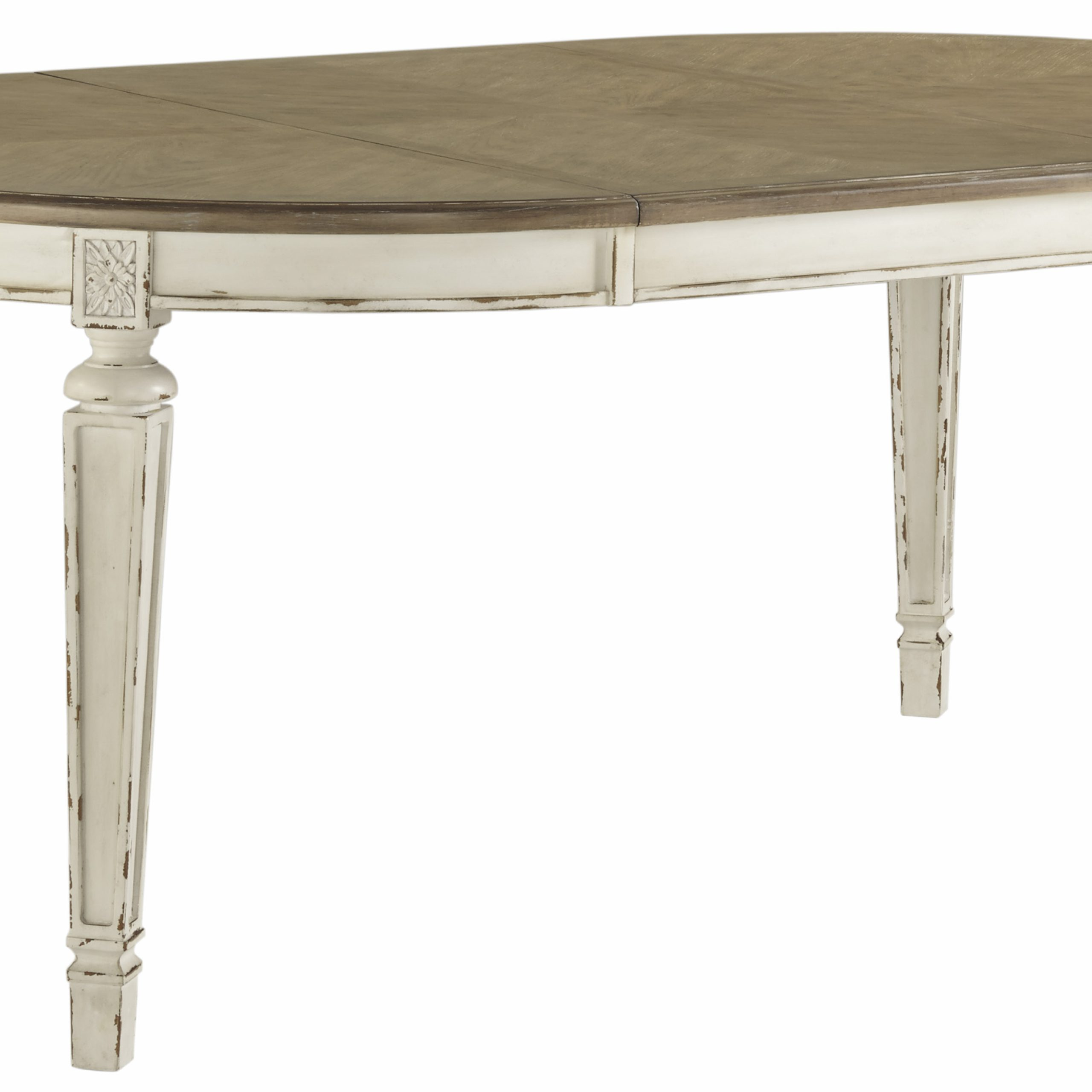 Ashley D743 35 Oval Dining Table Abc Warehouse With Current Benji 35'' Dining Tables (View 11 of 15)