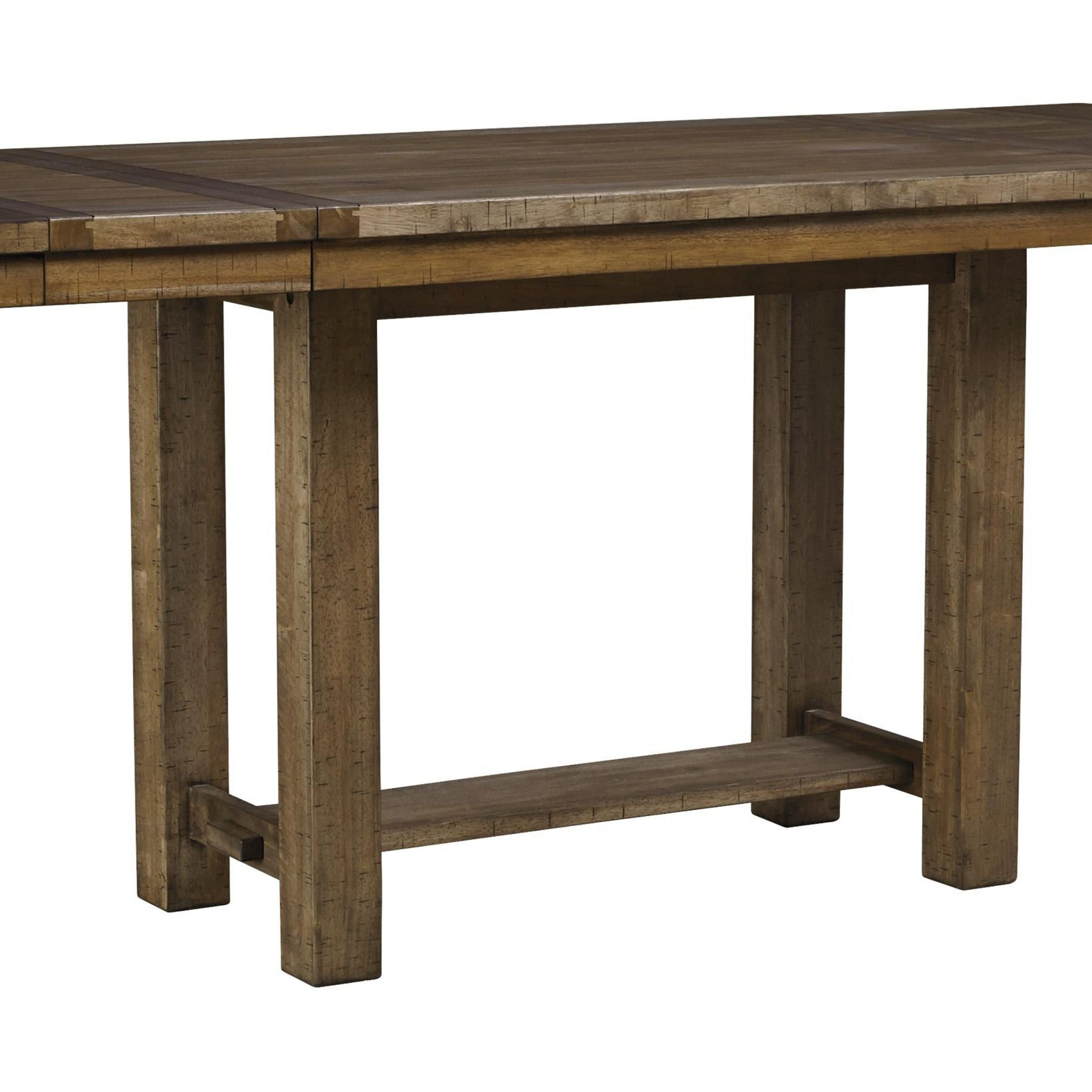 Ashley Moriville D631 Dining Room Set 7Pcs In Grayish Throughout Best And Newest Cainsville 32'' Dining Tables (View 13 of 15)