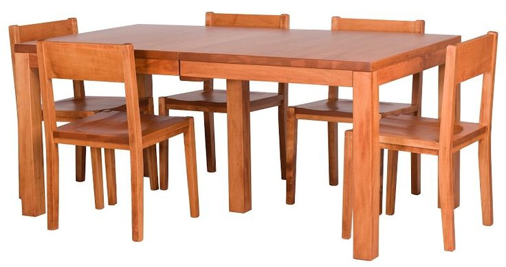 Ashton Dining Table And Delton Dining Chairs In Vermont In Recent Akito  (View 8 of 15)