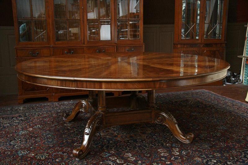 Astounding Expandable Round Dining Table Pedestal With Regard To 2017 Dawna Pedestal Dining Tables (View 7 of 15)