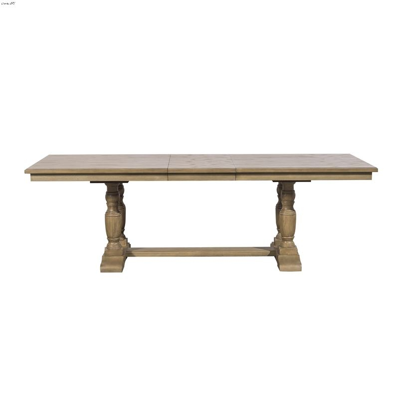Avignon Double Pedestal Trestle Dining Table 5545 112 Within Best And Newest Leonila 48'' Trestle Dining Tables (View 12 of 15)