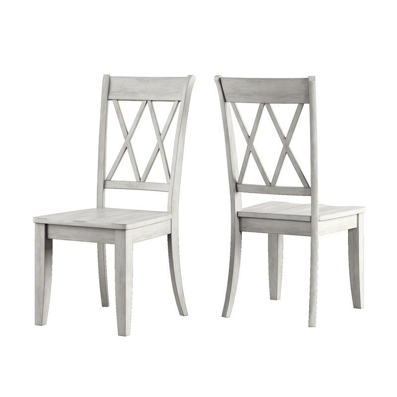 Back Bay Side Chair   Solid Wood Dining Chairs, Black Intended For Newest Sanibel (View 2 of 15)
