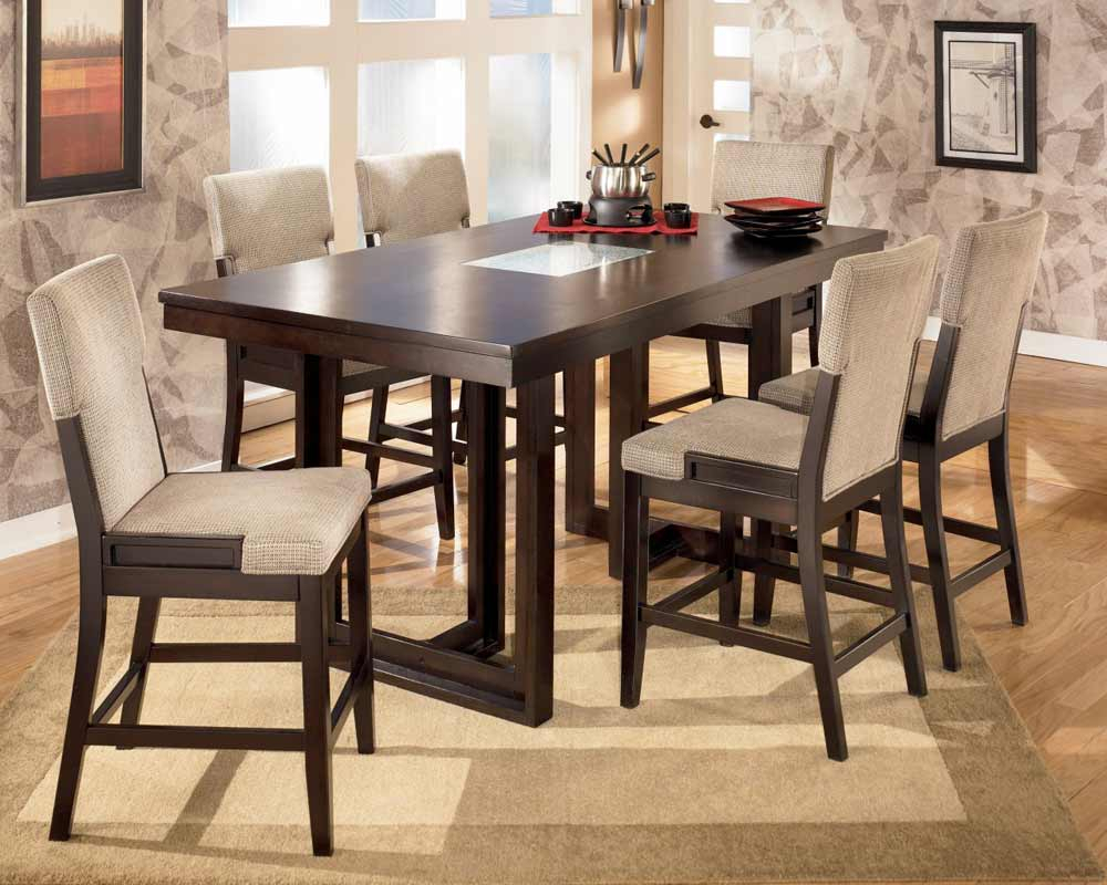 Bar Height Dining Table   Feel The Home With Most Popular Shoaib Counter Height Dining Tables (Photo 12 of 15)