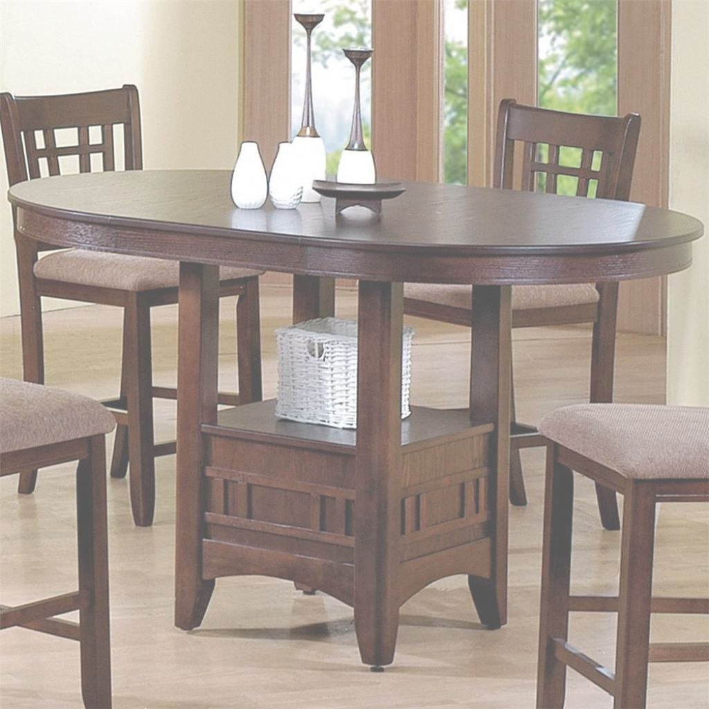 Featured Image of Counter Height Pedestal Dining Tables
