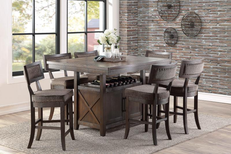 Barrons Furniture And Appliance – Counter Height Dining Pertaining To 2018 Babbie Butterfly Leaf Pine Solid Wood Trestle Dining Tables (View 13 of 15)
