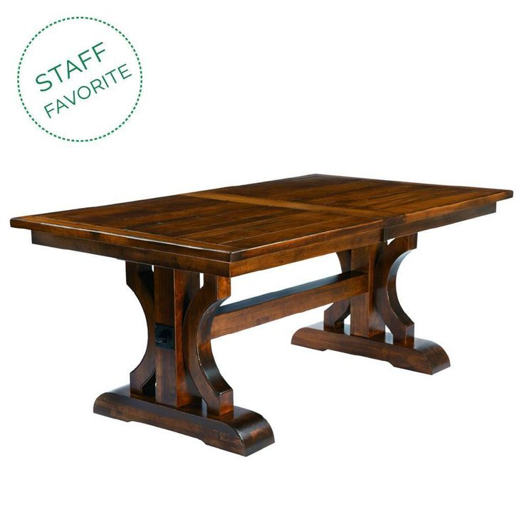 Barstow Trestle Extension Table | Trestle Dining Tables Within Most Current (View 11 of 15)