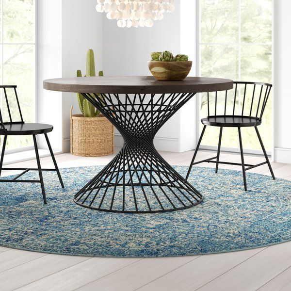 Belhaven Solid Wood Dining Table In 2020 | Dining Table For Most Recent Keown 43'' Solid Wood Dining Tables (View 12 of 15)