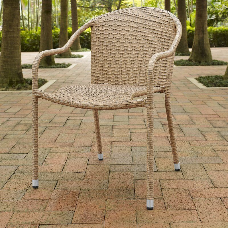 Belton Stacking Patio Dining Chair | Outdoor Dining Chairs Intended For Most Up To Date Belton Dining Tables (View 8 of 15)