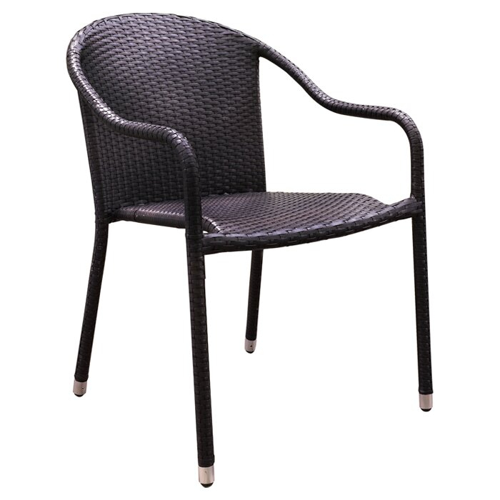 Belton Stacking Patio Dining Chair & Reviews | Allmodern In Most Recent Belton Dining Tables (View 12 of 15)
