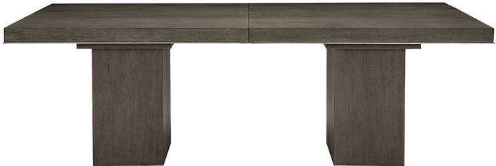 Bernhardt Linea Double Pedestal Dining Table   Double Intended For Most Popular Servin 43'' Pedestal Dining Tables (View 15 of 15)