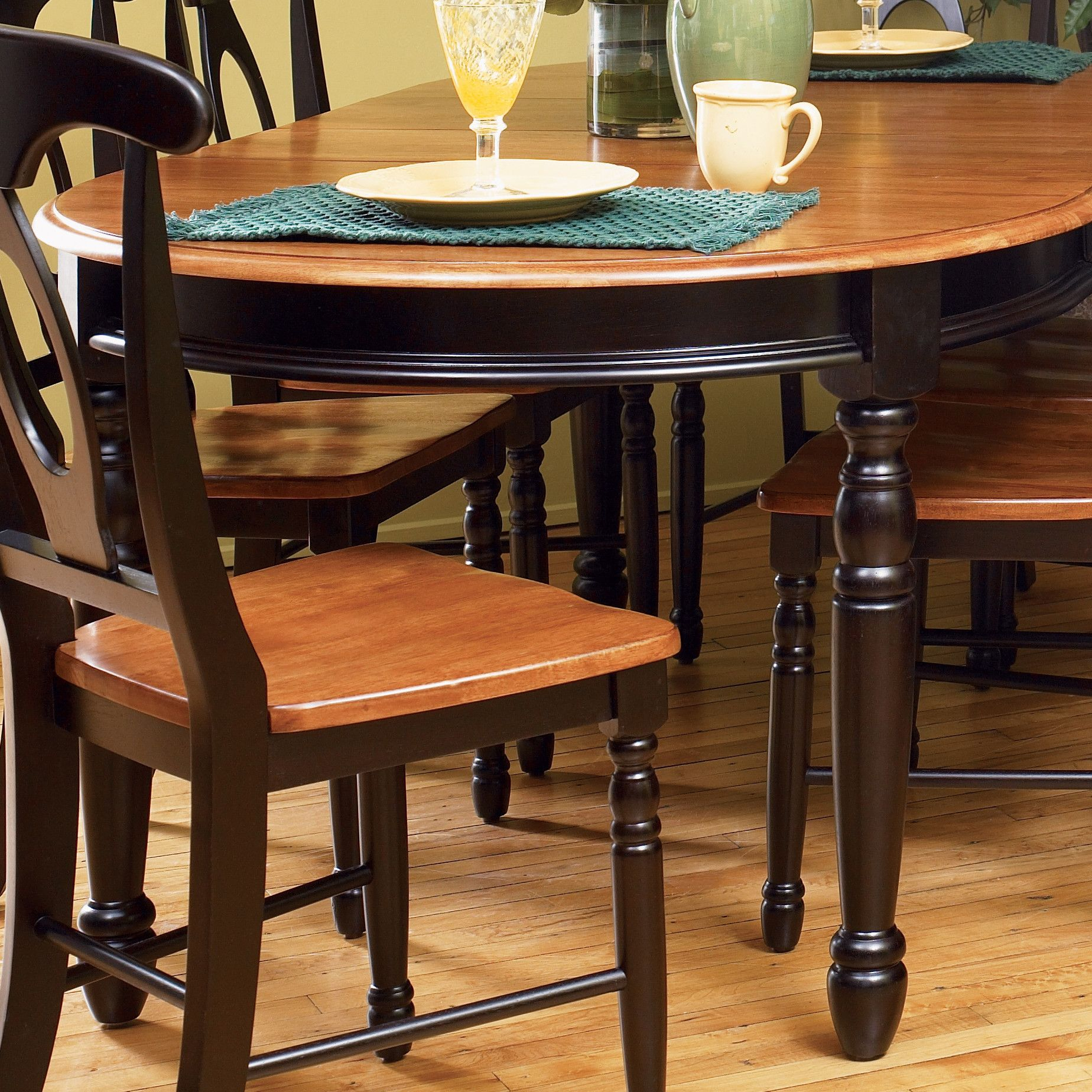 British Isles Dining Table | Wayfair (With Images) | Oval Pertaining To Most Current Keown 43'' Solid Wood Dining Tables (View 9 of 15)