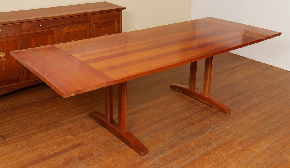 Burchard Galleries Sunday, February 28, 2016 Lot 1018 With Regard To 2017 Kara Trestle Dining Tables (View 5 of 15)